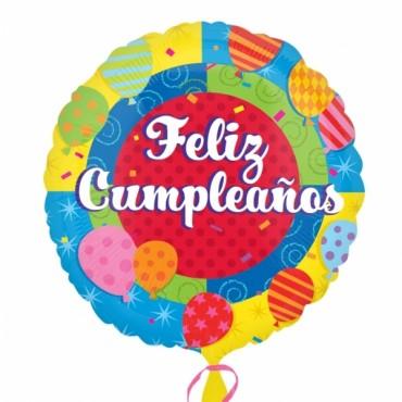 Globo Mini Feliz Cumpleaños Globos