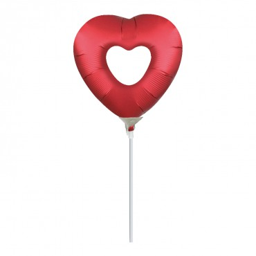 Globo Mini Doble Corazon