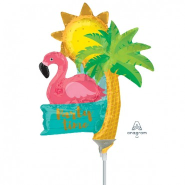 Globo Mini Tropical Flamingo